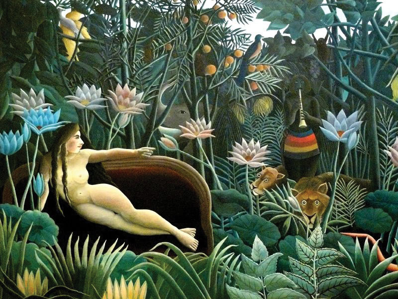 Rousseau, The Dream